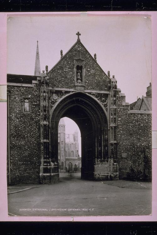 Norwich Cathedral Gateway.