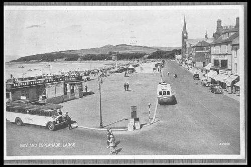 Bay and Esplanade, Largs.