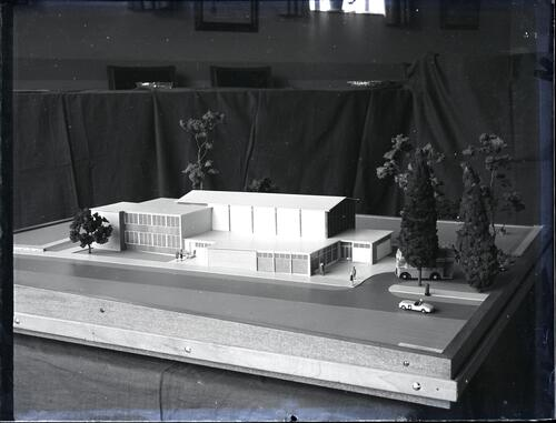 Glenrothes Development corporation model - Miners Institute.