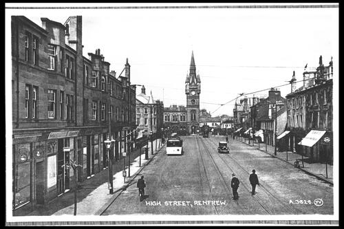 High Street, Renfrew.