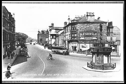Inchinnan Road, Renfrew.