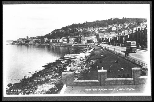 Ashton from West, Gourock.