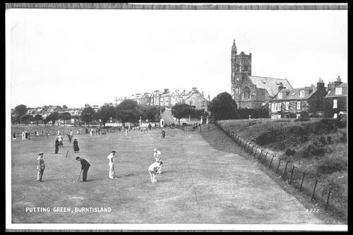 Putting Green, Burntisland.