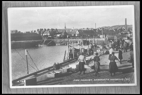 Fish Market, Arbroath Harbour.