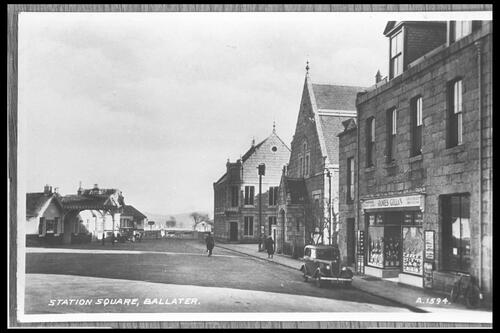 Station Square, Ballater.