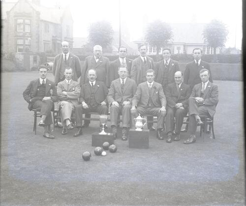 Bowling Team, [?Fife, Scotland].