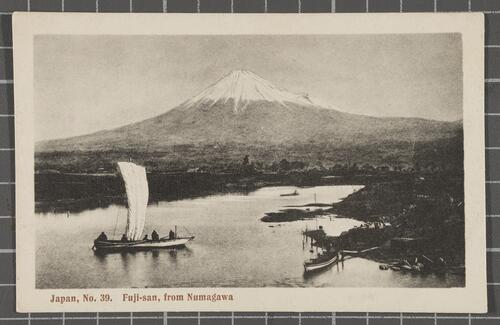 Fuji-san, from Numagawa