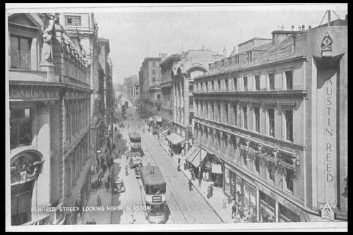 Renfield Street, Glasgow.