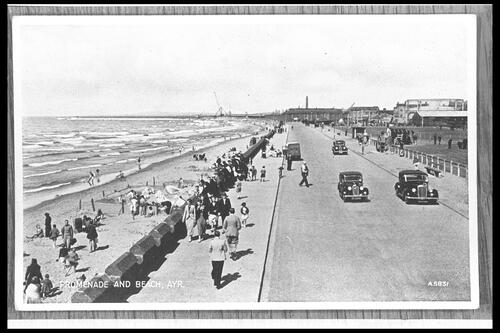 Promenade and Beach, Ayr.