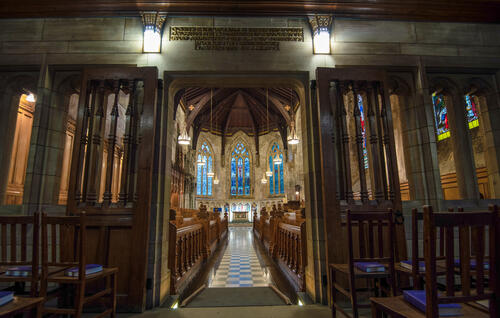 St Salvator's Chapel interiors, University of St Andrews