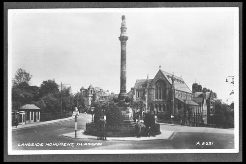 Langside Monument, Glasgow.