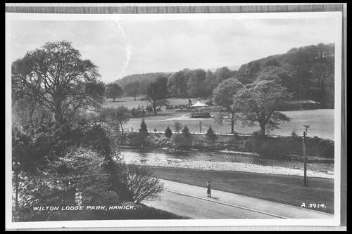 Wilton Lodge Park, Hawick.