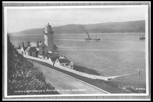 Cloch Lighthouse, Gourock.