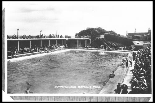 Burntisland Bathing Pool.