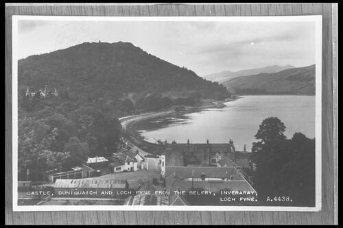 Castle & Duniquaich, Inveraray.