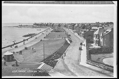 Esplanade looking West, Troon.
