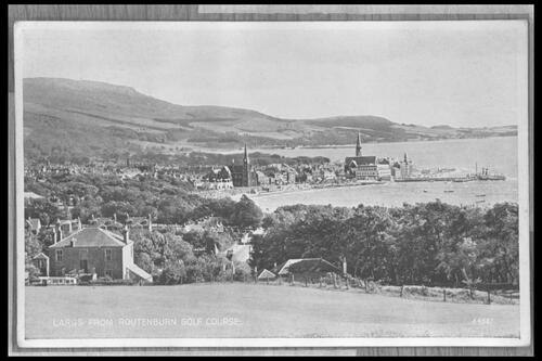 Largs from Routenburn.