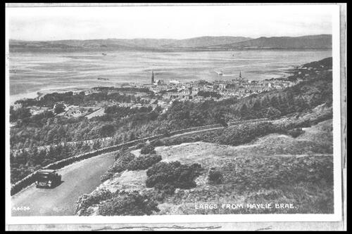 Largs from Haylie Brae.