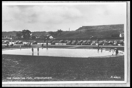 The Paddling Pool, Stonehaven.