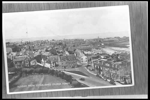 Dunbar from Church Tower.