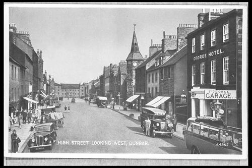 High Street looking West, Dunbar