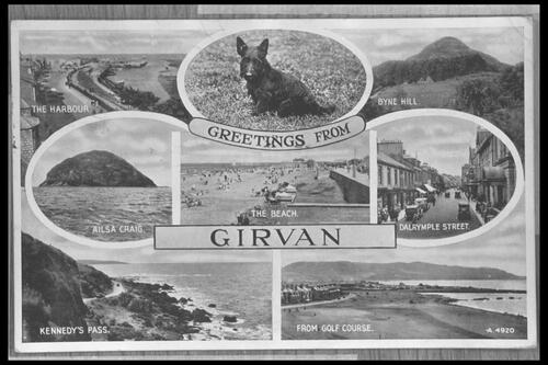 Greetings from Girvan.