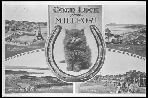 Good Luck from Millport.