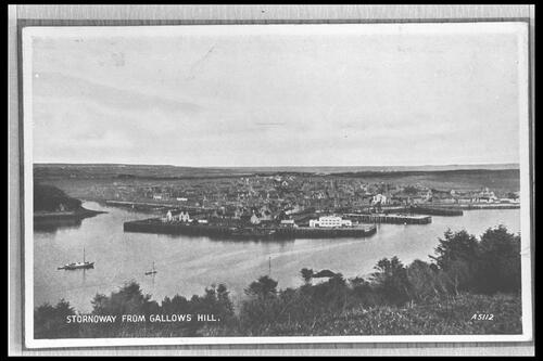 Stornoway from Gallows Hill.