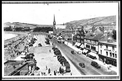 Esplanade and Beach, Largs.