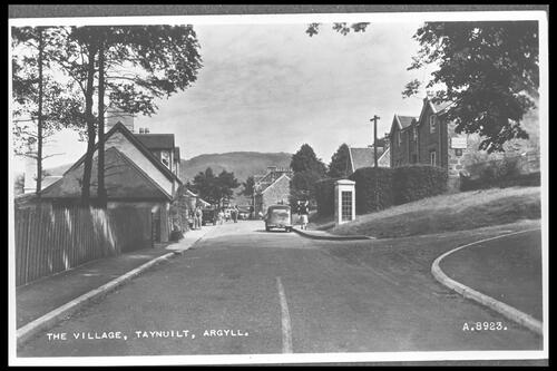 The Village, Taynuilt, Argyll.
