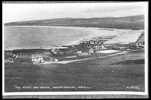 The Hotel & Beach, Machrihanish.