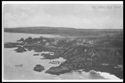 St Abbs from West.