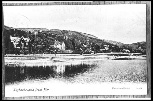 Tighnabruaich from Pier.