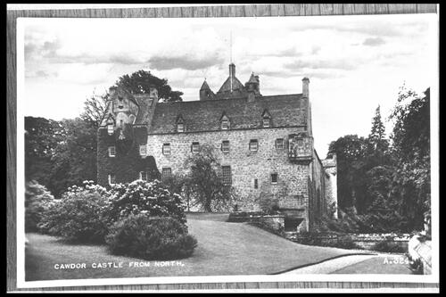 Cawdor Castle from North.