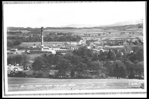 Balloch from above Luss Road.