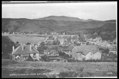Garelochhead from Railway.