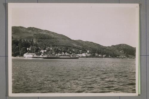 Tighnabruaich from the Water.