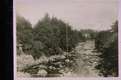 View from Bridge of Feugh, Banchory.