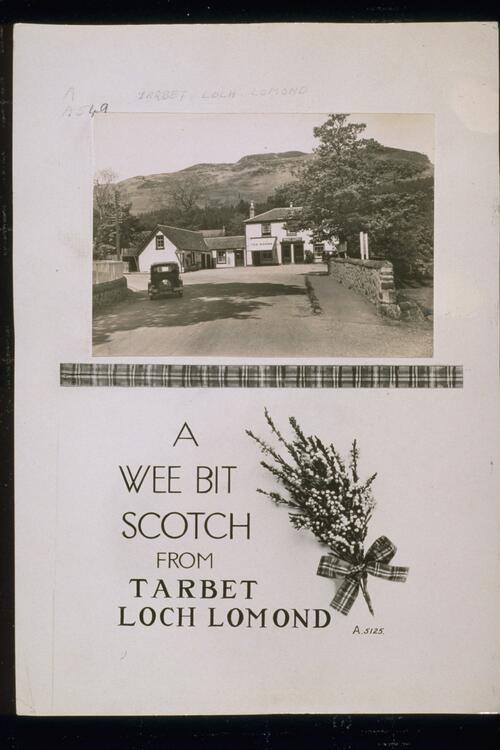 A Wee Bit Scotch from Tarbet.
