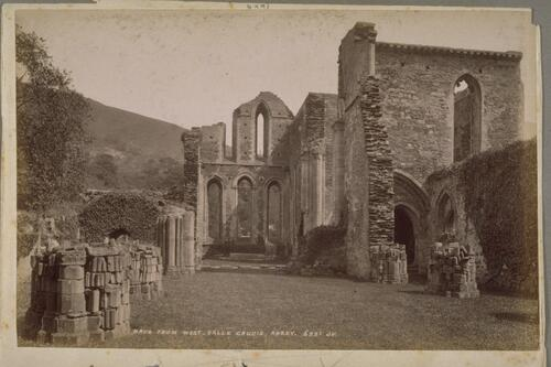 Nave from the West, Valle Crucis Abbey.