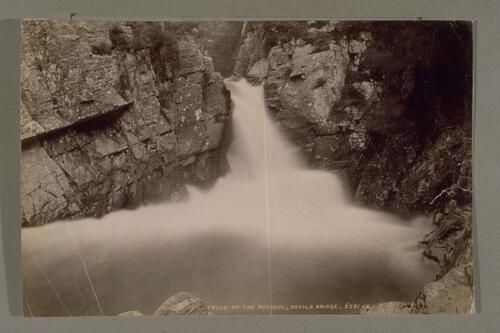 Falls of the Rheidol, Devils Bridge.