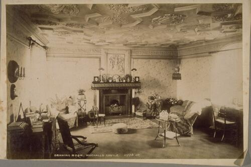 Drawing Room, Muchalls Castle.