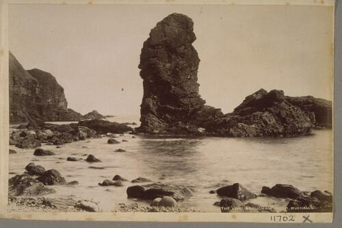 "The ""Lord Brougham"" Rock, Muchalls."