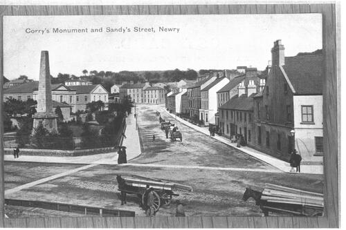 Corry's Mont and Sandy's Street.