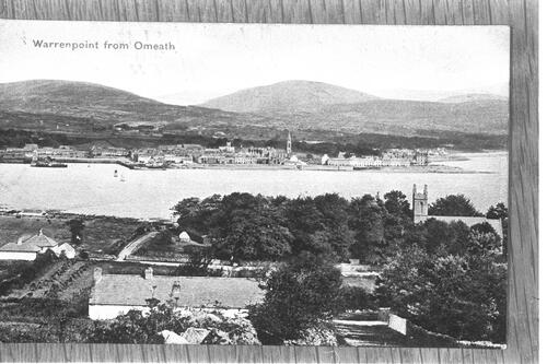 Warrenpoint from Omeath.