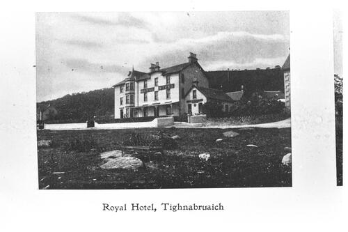 Royal Hotel,Tighnabruaich.