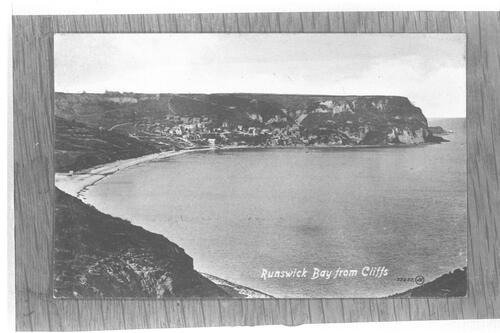 Runswick Bay from Cliffs.