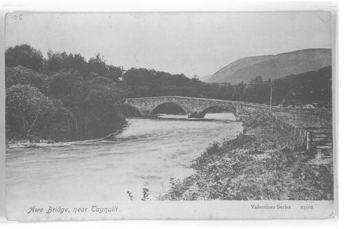 Awe Bridge near Taynuilt.