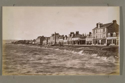 Helensburgh from the pier.