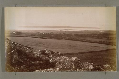 Inchmarnock from Baron Hill.